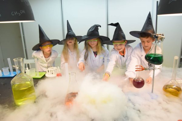 urodziny smartlab magic party hogsmart